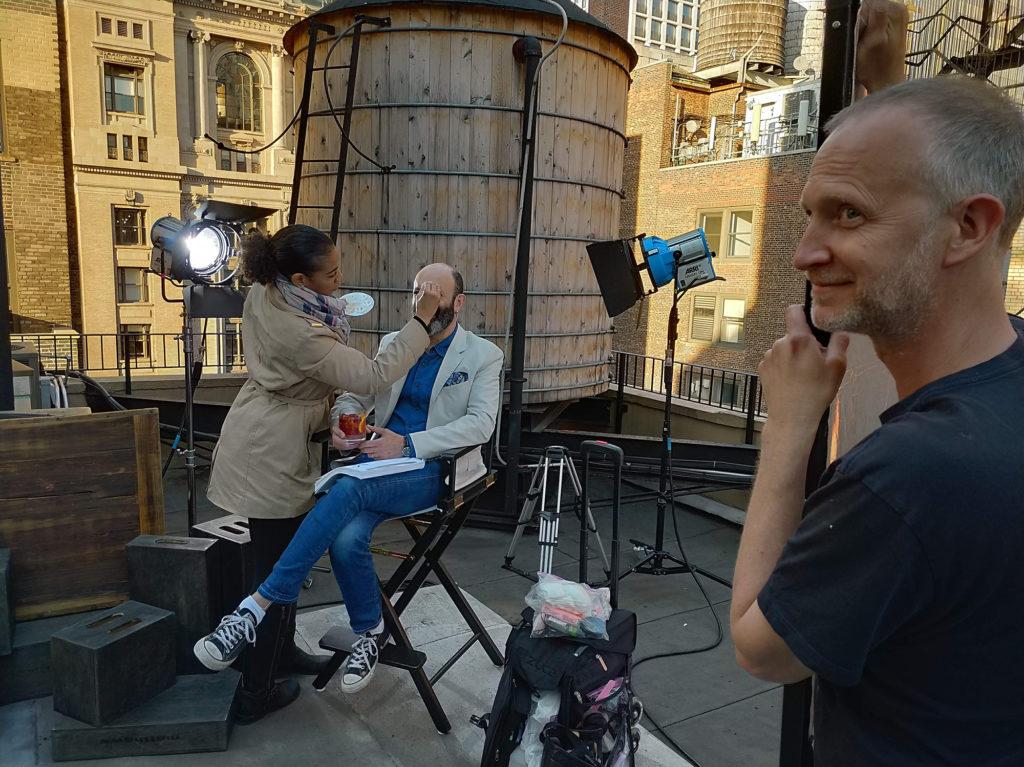 Wonnacott shoots global campaign for Antica Formula...