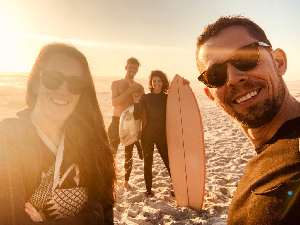 Tim Mueller surfing the sand...