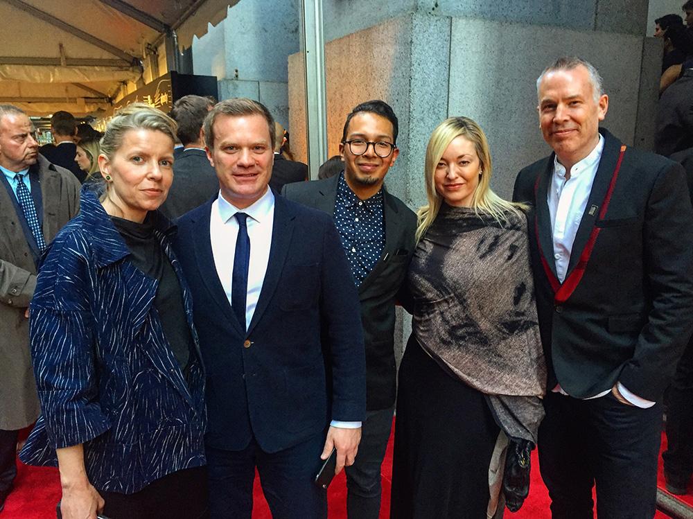 Mr & Mrs Gavin, Anthony, Tammy and Wonnacott...