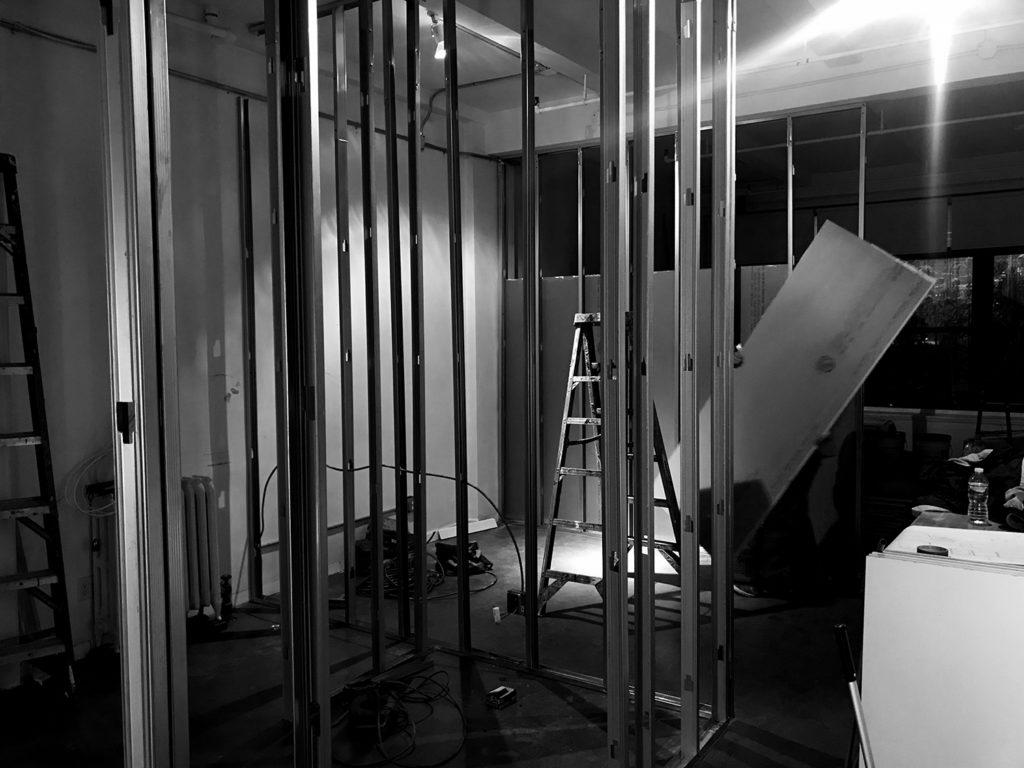 Velvet Robot starts to build new space...