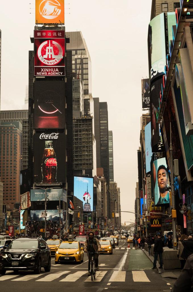 Wonnacott, Coke & Times Square...