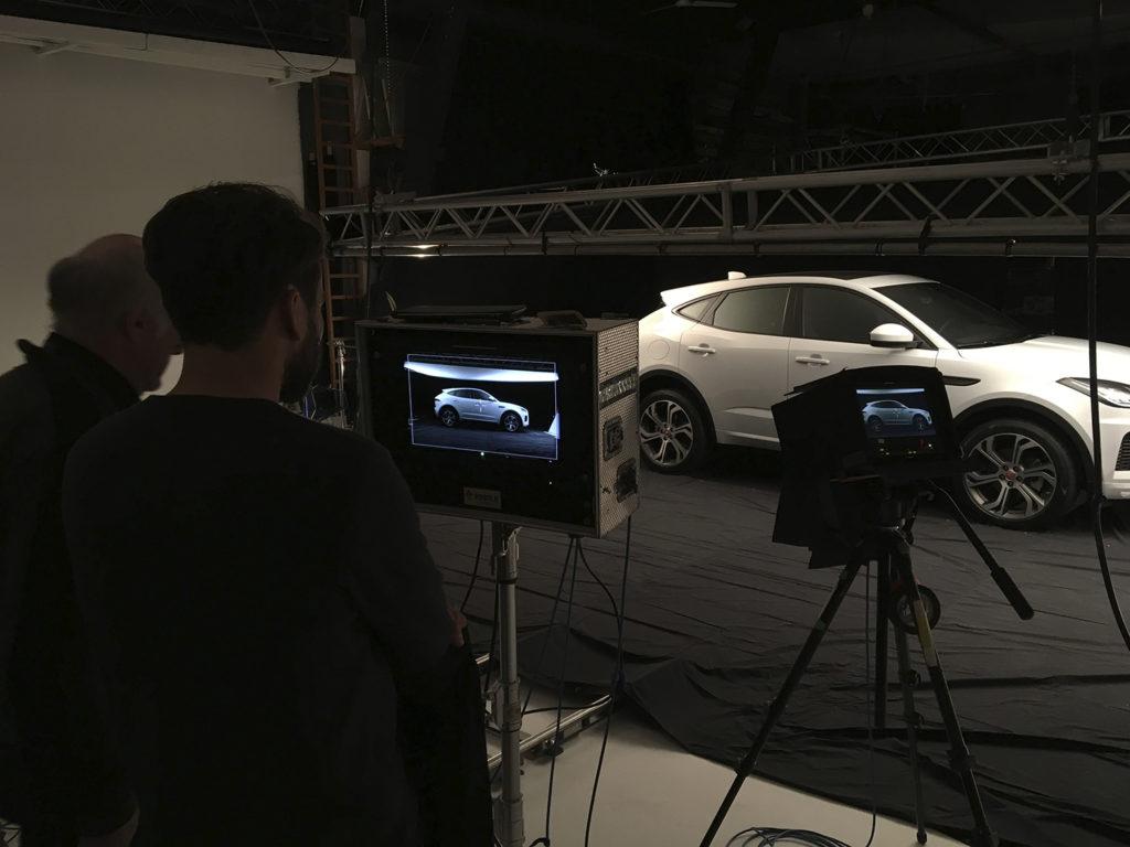 Jaguar and Sandro Baebler BTS...